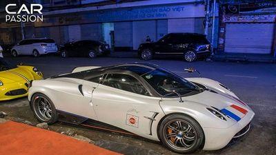 Pagani Huayra hơn 80 tỷ đọ dáng Alfa Romeo ở Sài Gòn