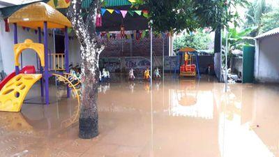 Mưa lớn gây ngập lụt ở Anh Sơn, Con Cuông