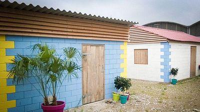 Những 'ngôi nhà Lego' đời thực làm từ vật liệu tái chế