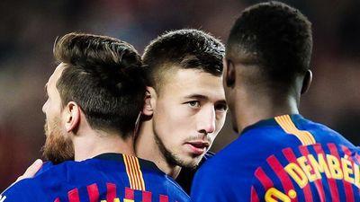 Lenglet: 'Messi không cáu gắt dù đồng đội mắc sai lầm'