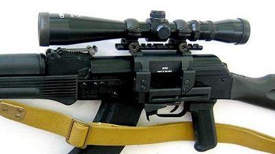 Nga cũng có súng gắn 'kính ngắm kẹp thân' giống như AKM-1 Việt Nam