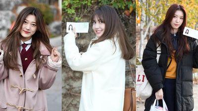 Dàn idol Kpop dự thi Đại học: ô tô đưa tận cổng, sang chảnh xinh đẹp hết nấc