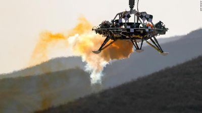 Trung Quốc nói thử nghiệm thành công tàu đổ bộ hiểm sao Hỏa