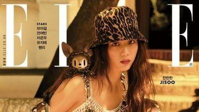 Jisoo trông như nữ thần khi diện cả cây hàng hiệu trên tạp chí