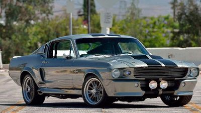 Sắp đấu giá huyền thoại Ford Mustang Eleanor 'hàng thửa'