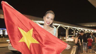 Ngọc Châu hô vang 'Việt Nam' trong ngày chào sân Miss Supranational