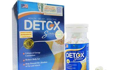 Sản phẩm detox giảm cân Mỹ Health–Belief–Effective bị cảnh báo vì lý do gì?
