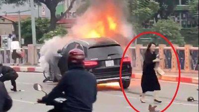 Vụ cháy xe Mercedes: Nữ tài xế, giày cao gót... nhà giam rộng cửa đón