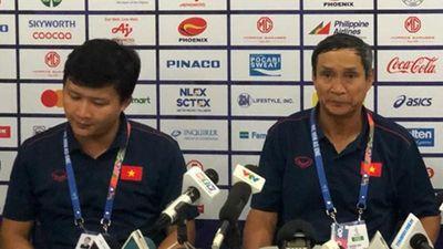 Thầy Chung hết lời khen ngợi thủ môn của đội tuyển Việt Nam