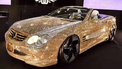 Siêu xe đính kim cương và những mẫu ôtô duy nhất trên thế giới