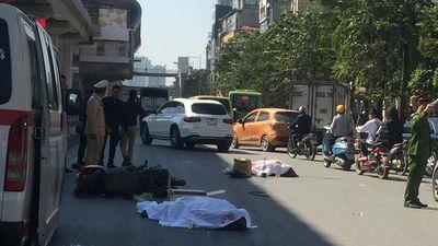 Đôi nam nữ tử vong thương tâm dưới bánh xe tải