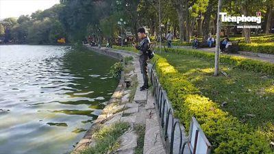 Cẩn trọng kè Hồ Gươm bằng bê tông đúc sẵn