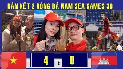 Sao Việt tưng bừng với chiến thắng 4 sao của U.22 Việt Nam