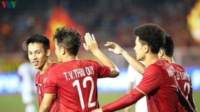 U22 Việt Nam ghi bàn thắng thứ 4 vào lưới U22 Campuchia