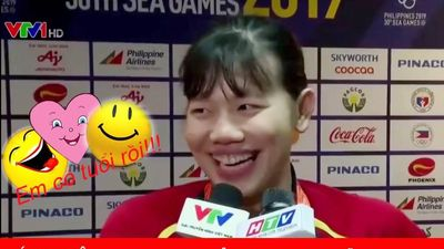 Ánh Viên chạy show trả lời phỏng vấn ngây ngô cực kỳ dễ thương