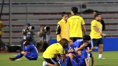 Tuyển nữ Thái Lan đổ gục xuống sân sau trận chung kết