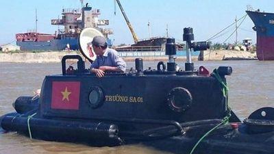 Tự hào dàn tàu ngầm 'made in Việt Nam' chế tạo bởi... nông dân, doanh nhân