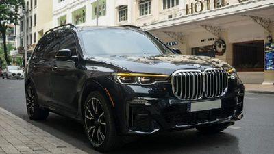 Cận cảnh BMW X7 xDrive40i M Sport gần 7,5 tỷ tại Sài Thành