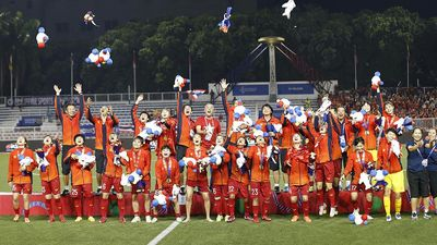 Đội tuyển bóng đá nữ gửi lời chúc chiến thắng tới U22 Việt Nam