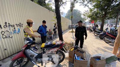 Chở gần 100kg pháo, đối tượng bị Cảnh sát 141 ngăn chặn kịp thời