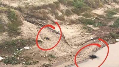 Bàng hoàng phát hiện thi thể nghi cha con tử vong dưới chân cầu Ngọc Tháp