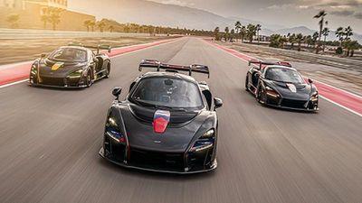 Ngắm bộ ba siêu xe Mclaren Senna XP triệu đô đặc biệt