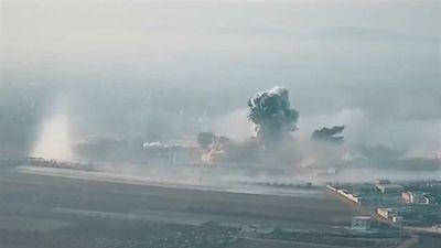 Video Nga dùng bom nhiệt áp hạng nặng tấn công phiến quân