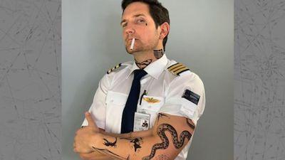 Phi công có xăm hình và hút thuốc được không?