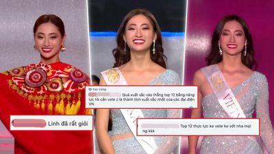 Lương Thùy Linh trượt Top 5 Miss World, fan vẫn tự hào: 'Vào Top 12 không cần vé vote, quá xuất sắc'