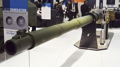 NATO sẽ khuất phục Nga, Trung Quốc bằng xe tăng nòng pháo siêu khủng 130mm?