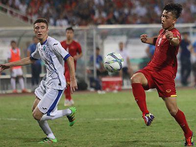 Tiền đạo ghi bàn gỡ hòa cho Olympic Việt Nam trước Olympic Uzbekistan khẳng định chức vô địch tại giải giao hữu lần này là động lực tinh thần cho đội bóng trước thềm ASIAD.