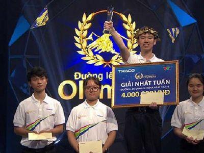 Nguyễn Hoàng Minh đã để lại ấn tượng vô cùng lớn với các khán giả theo dõi chương trình Đường lên đỉnh Olympia số vừa rồi. Thành tích chung cuộc của anh là 410 điểm.