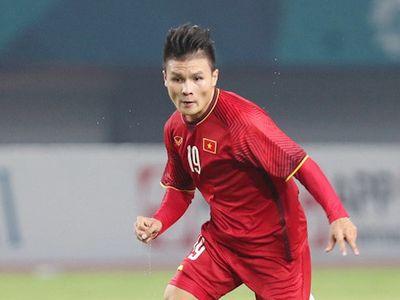 Tiền vệ của đội tuyển Việt Nam và CLB Hà Nội đã khẳng định sự quyết tâm trên trang chủ AFF Cup 2018. Theo đó, mục tiêu Quang Hải và các đồng đội hướng tới chỉ có chiến thắng.