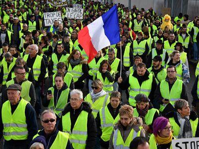 Phong trào biểu tình 'Áo vàng' là gì mà khiến Châu Âu lo sợ?