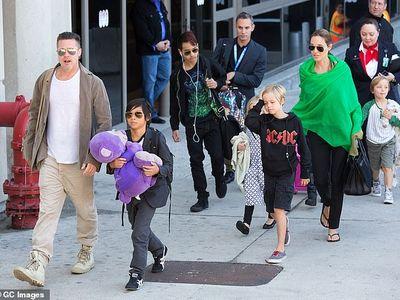 Brad Pitt hạnh phúc đón tuổi 55 bên các con sau 2 năm sống trong cô đơn và buồn tủi