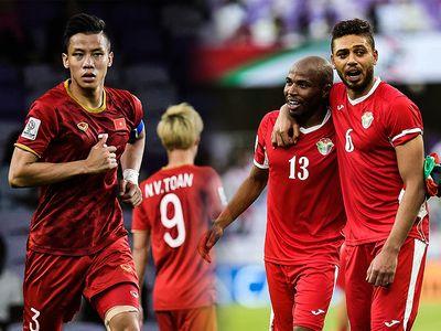 Cấp độ cao nhất của bóng đá Việt Nam và Jordan đã chạm trán nhau hai lần trong lịch sử và đều diễn ra ở vòng loại Asian Cup 2019.