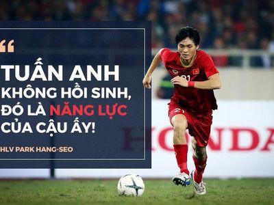 Tuấn Anh chính là lời giải cho HLV Park Hang-seo ở vị trí tiền vệ trung tâm, qua đó kiện toàn bộ khung của đội tuyển Việt Nam để tiến tới những mục tiêu xa hơn.