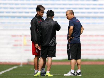 Ông Park Hang Seo cho biết nhiều cuộc họp của đội U22 Việt Nam, thông tin bị đưa lên truyền thông ngay sau đó.
