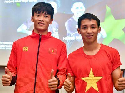Trong cuộc phỏng vấn trực tuyến với Zing.vn, Hùng Dũng cho biết anh hy vọng tiến sâu tại Vòng loại World Cup 2022, còn Hoàng Đức muốn thể hiện tốt tại VCK U23 châu Á năm 2020.