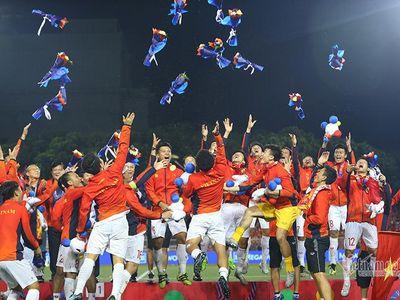 Vể nước sau tấm HCV SEA Games lịch sử, U22 Việt Nam tiếp tục nhận những khoản thưởng nóng từ các đơn vị, cá nhân.