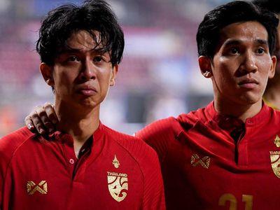 Các cầu thủ U23 Thái Lan chịu tâm trạng nặng nề, một số người thậm chí khóc khi thua Saudi Arabia 0-1 ở tứ kết giải U23 châu Á tối 18/1.