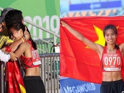 Từng chạy Grab phụ giúp gia đình, giấu bố mẹ sang Philippines tham dự SEA Games. Thu Trang đã trở thành cô gái vàng của Việt Nam khi giành HCV SEA Games 30.