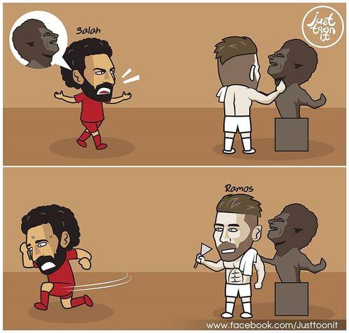 Biếm họa 24h: Europa League chào đón Liverpool, Salah tá hỏa vì tượng