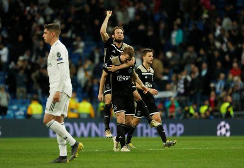 Địa chấn, Real Madrid bị loại khỏi Champions League
