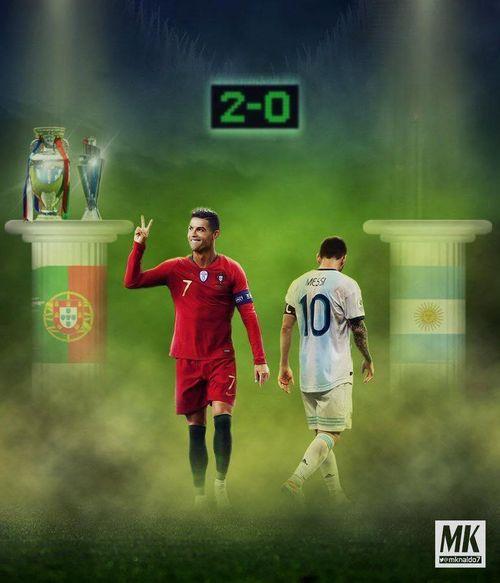 Hí họa Messi 60 tuổi vẫn chờ đợi danh hiệu đầu tiên cùng Argentina