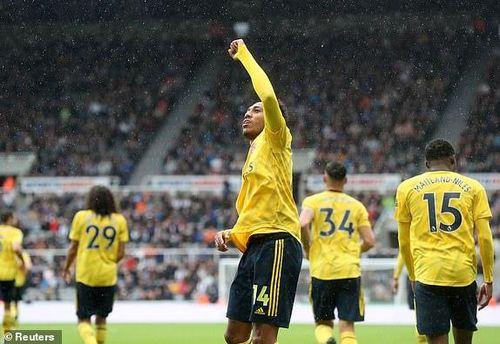 Aubameyang ghi bàn, Arsenal thắng tối thiểu Newcastle