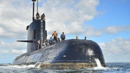 Phát hiện tiếng động có thể từ tàu ngầm mất tín hiệu của Argentina