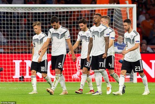 Kết quả UEFA Nations League: Tuyển Đức thua đậm trên đất Hà Lan