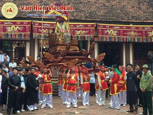 Vĩnh Phúc: Lễ hội rước kiệu Đại Đồng – Tiệc mừng công diễn ra tốt đẹp