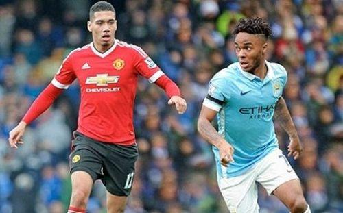 Đại chiến 'xanh – đỏ' thành Manchester: Điểm 'nóng' Smalling–Sterling